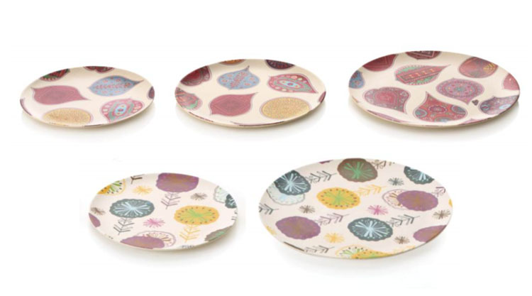 ... Friendly Biodegradable Bamboo Dishes. View Larger Image  sc 1 st  Eco Dinner Set & Eco Friendly Biodegradable Bamboo Dishes | Eco Dinner Set- Childrens ...
